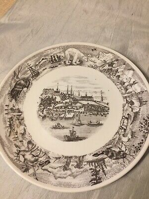 1967 Vintage Royal Doulton Plate Canadian Centennial Plate Old Quebec  • 3.99£