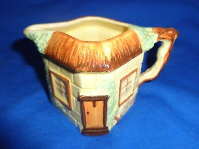Vintage 'keele Street Pottery' Yellow Cottage Ware Cream/milk Jug • 4.99£