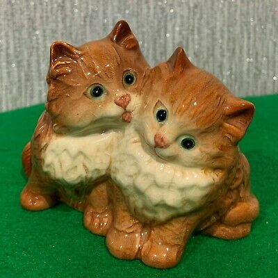 BESWICK PERSIAN KITTENS SEATED GINGER GLOSS MODEL  No 1316 GREEN EYES  • 14.99£