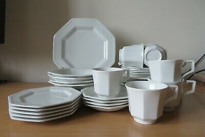 JOHNSON BROTHERS *HERITAGE WHITE* TABLEWARE Multi-Listing PLATES, BOWLS, CUPS • 25£