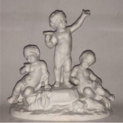 Superb French 18th C Sevres Bisque Figural Putti's Celebrating Group By Barrat • 184.99£