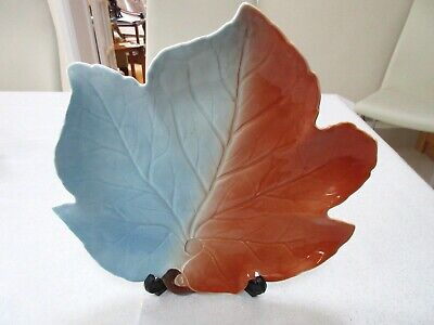 Stunning Royal Winton Leaf Shaped Serving Plater • 4.99£