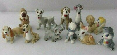Wade Disney Lady And The Tramp & Bambi Figures X 11 • 39.99£
