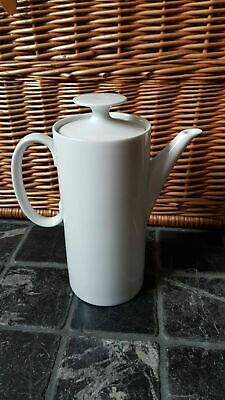 Thomas Medallion Germany Plain White Tall Coffee Pot • 12.99£
