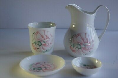 Royal Doulton Bone China Bathroom Set  4 Piece For Cacharel Anais Anais  • 13.50£