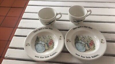 Wedgwood Children's Play Peter Rabbit Tea Set • 14.80£