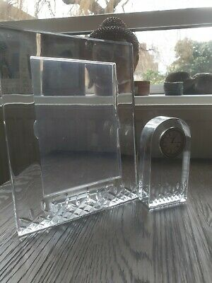 Genuine Waterford Crystal Frame And Clock • 120£
