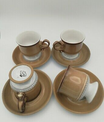 DENBY Saville CUPS AND SAUCERS Collectable  • 29£