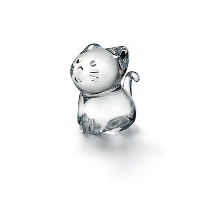 Baccarat Crystal Minimals Cat / Kitty 2610097 • 145£