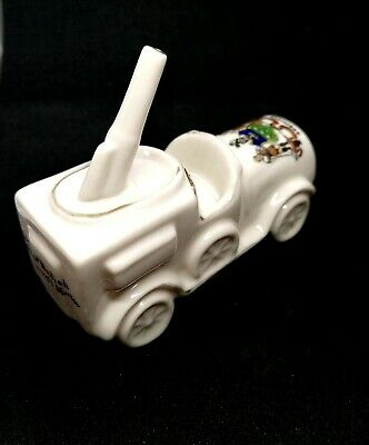 Carlton China Collectable, Anti Aircraft Motor, Sheffield Crest, Excellent Item • 68.66£