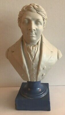 Parian Style Continental Bust Of A Gentleman • 4.99£