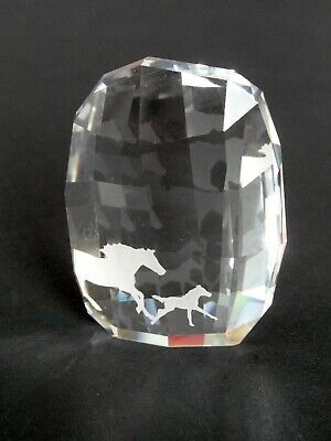 SWAROVSKI HORSES PAPERWEIGHT 5004732, Retired – In Original Box, Excellent Cond. • 23£