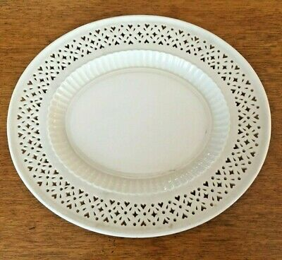 Hartley Greens And Co Leeds Pottery Creamware Oval Platter • 12£