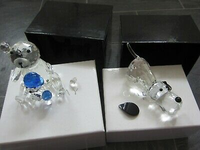 Sale!! Galway Irish Crystal Bears  - New In Boxes • 10.99£